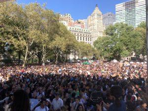 環保罷課結束換峰會 青年持續向世界領袖施壓